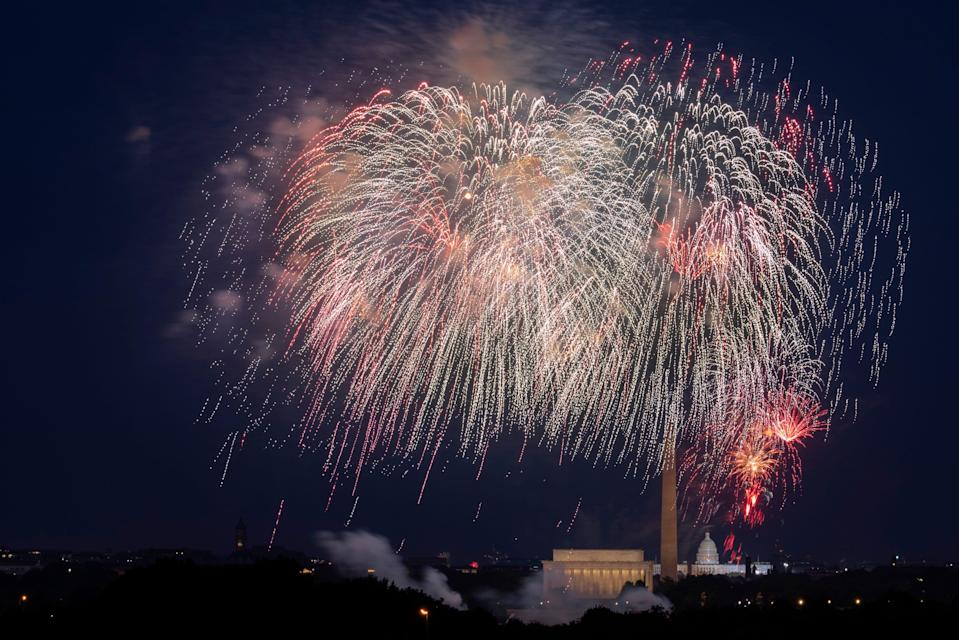 Washington's Capitol Fourth celebration is returning this year as a pre-recorded show due to the pandemic with a live fireworks presentation.