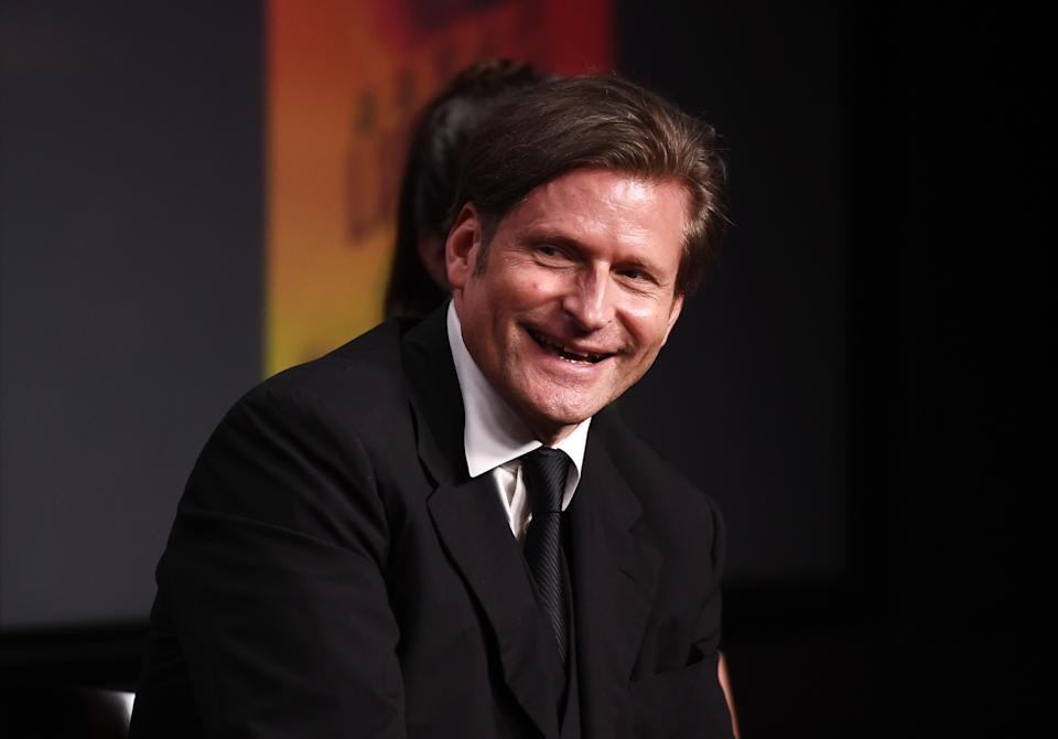 LOS ANGELES, CALIFORNIA - OCTOBER 11: Actor Crispin Glover attends the SAG-AFTRA Foundation Conversations with