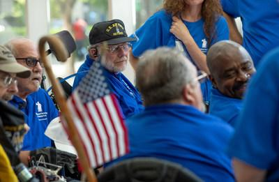Veteran athletes of all ages participate in 20 adaptive sporting events at the Wheelchair Games.