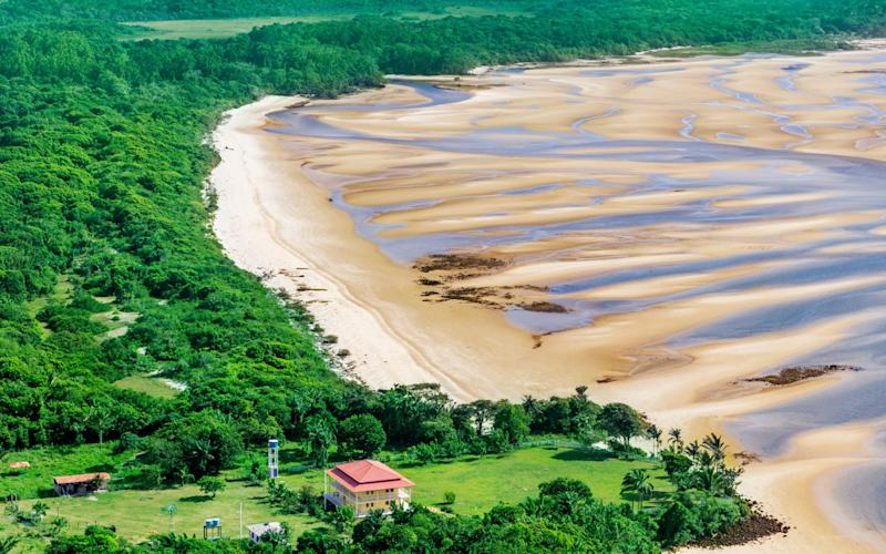 Marajó, the world's biggest river island. Or is it? - luoman