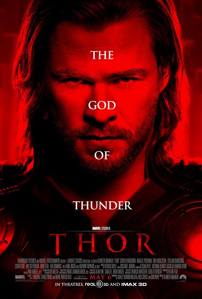 """The Best:  <a href=""""http://movies.yahoo.com/summer-movies/thor/1810026342"""">THOR</a>    Sure, it's oddly reminiscent of the one-sheet for <a HREF=""""http://movies.yahoo.com/photos/movie-stills/gallery/2738/the-social-network-stills#photo27"""">The Social Network</a>, but you have to hand it to Marvel's summer blockbuster kickoff for resisting the urge to populate the poster with the usual action collage of floating heads."""