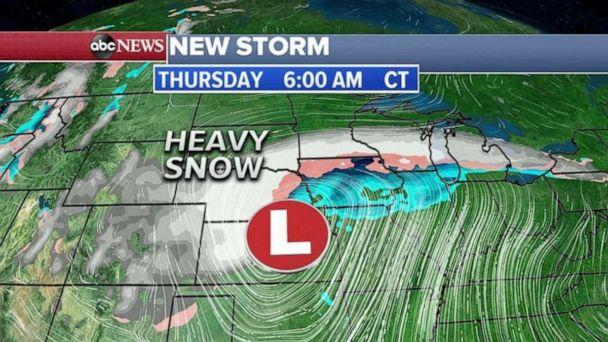 PHOTO: The Midwest is bracing for a potentially massive blizzard. (ABC News)