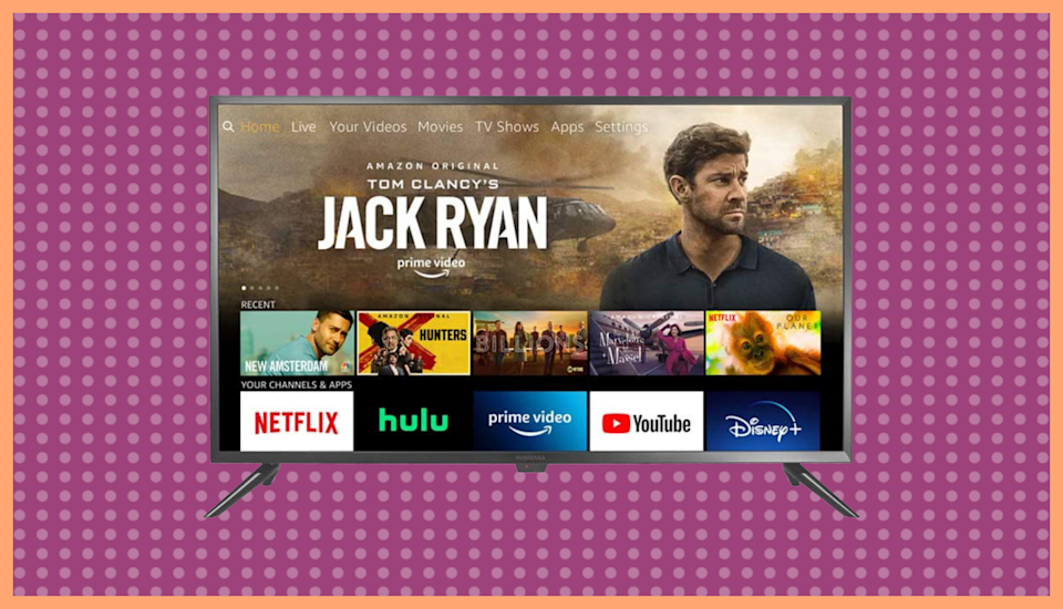 Broadcast channels show up in the same menu as streaming options, which makes it easy to find what you want. Photo: Amazon)