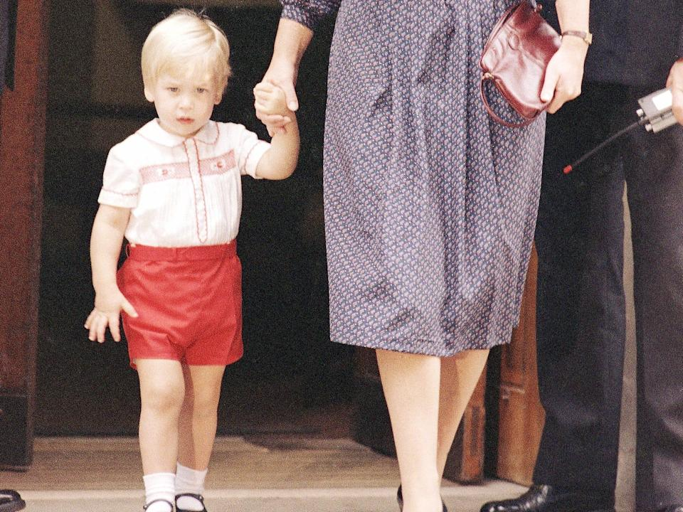 prince william red outfit