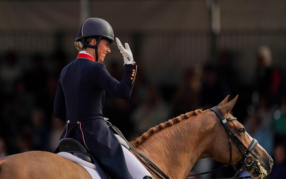 History beckons for 'artist' Charlotte Dujardin as she aims for third straight Olympic gold - Steve Parsons /PA