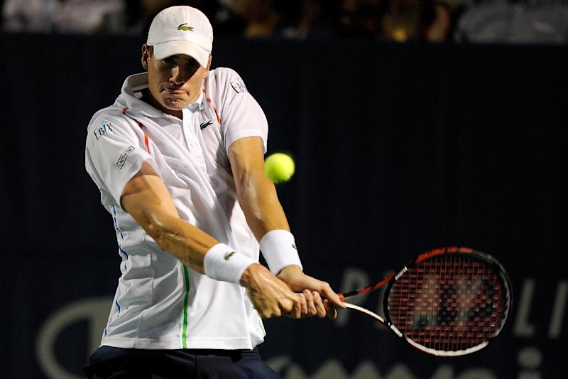 Tennis - Injured Isner pulls out of Winston-Salem