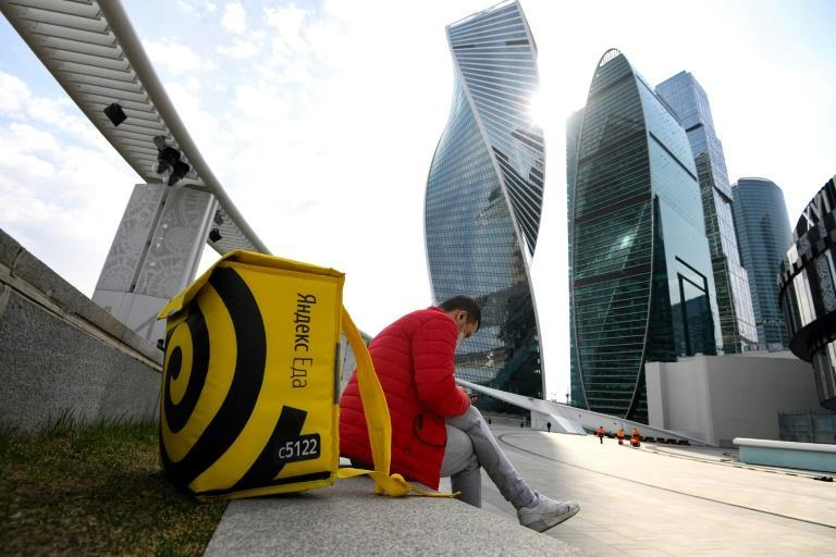 Russian company Yandex has enjoyed success with rapid delivery of groceries during the pandemic