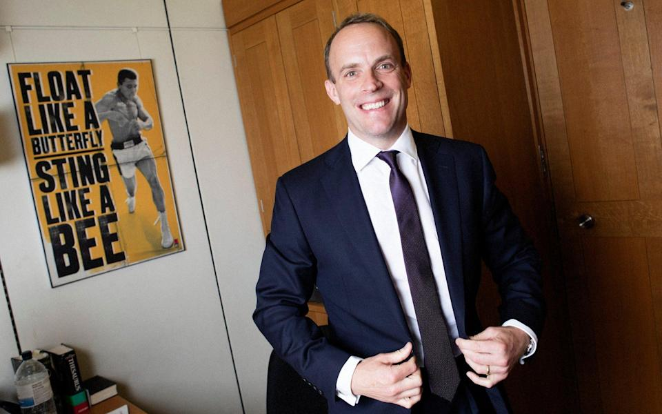 Dominic Raab indicated that the UK would expand its blacklisting system to target greater numbers of individual hackers and hostile agents online