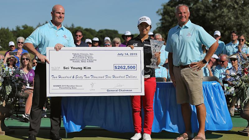 LPGA to restart at newly created Drive On Championship as part of Ohio double