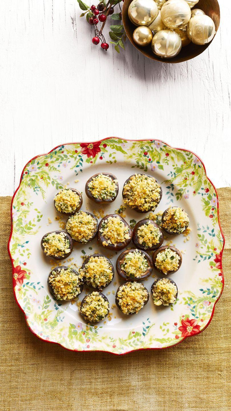 """<p>There's just something so decadent and festive about bite-sized mushrooms! They're a great go-to Christmas appetizer. These are filled with brie and topped with crispy breadcrumbs.</p><p><strong><a href=""""https://www.thepioneerwoman.com/food-cooking/recipes/a34208011/crispy-brie-stuffed-mushrooms-recipe/"""" rel=""""nofollow noopener"""" target=""""_blank"""" data-ylk=""""slk:Get the recipe."""" class=""""link rapid-noclick-resp"""">Get the recipe.</a></strong></p><p><strong><a class=""""link rapid-noclick-resp"""" href=""""https://go.redirectingat.com?id=74968X1596630&url=https%3A%2F%2Fwww.walmart.com%2Fbrowse%2Fhome%2Ffood-prep%2F4044_623679_133020_642199%3Ffacet%3Dbrand%253AThe%2BPioneer%2BWoman&sref=https%3A%2F%2Fwww.thepioneerwoman.com%2Ffood-cooking%2Fmeals-menus%2Fg34272733%2Fchristmas-party-appetizers%2F"""" rel=""""nofollow noopener"""" target=""""_blank"""" data-ylk=""""slk:SHOP MIXING BOWLS"""">SHOP MIXING BOWLS</a><br></strong></p>"""