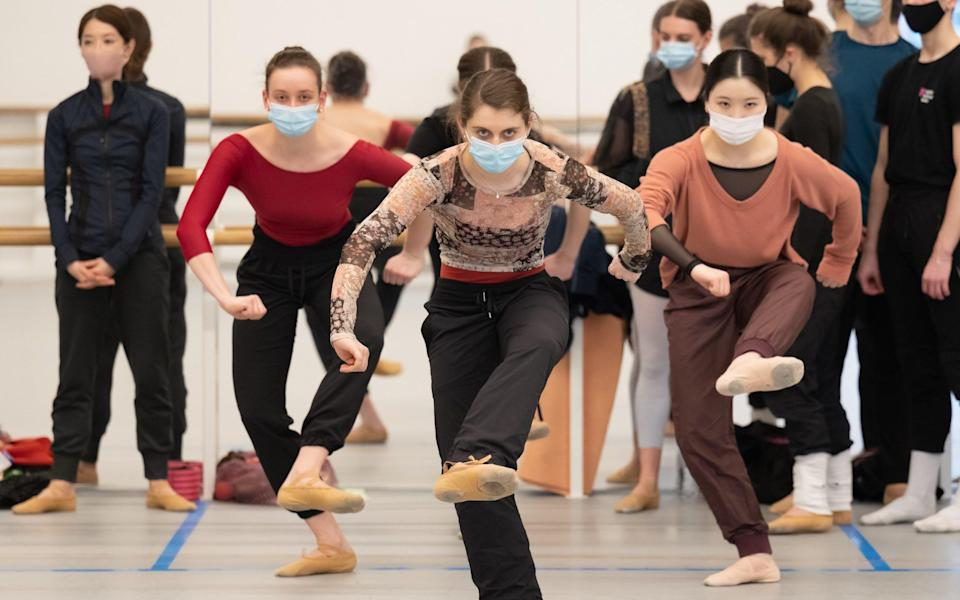 Creature is set to premiere at Sadler's Wells later this month - Amber Hunt