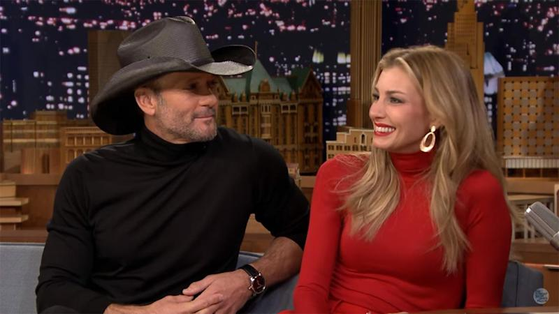 Tim McGraw Met His Daughter's Date in a Bloody Apron While Holding a Knife, Talks First Meeting Faith Hill