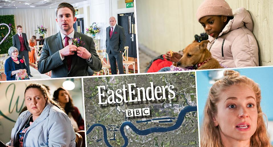 What's the come on EastEnders (BBC)
