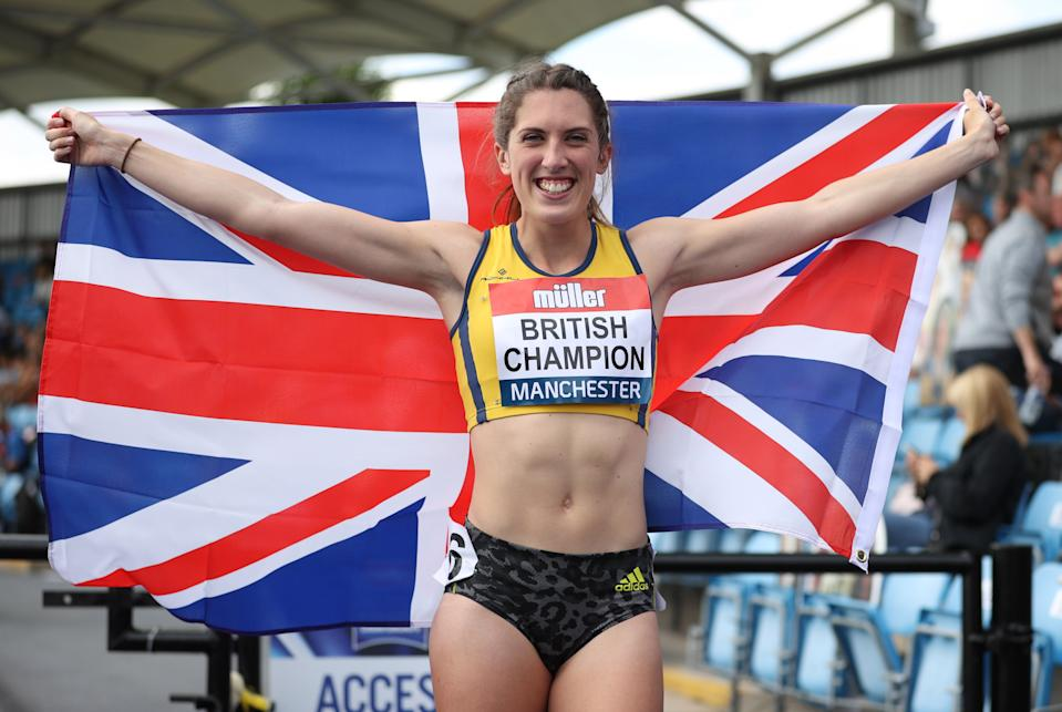 Jubilant Turner, 25, set the Manchester track on fire with a searing time to secure her place on the Japanese plane