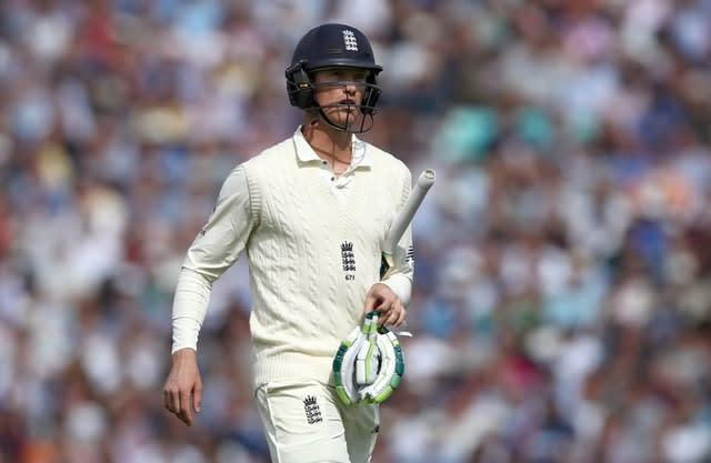 Keaton Jennings has been named as vice-captain for the four-day leg and will hope to press claims for an England recall (John Walton/PA)