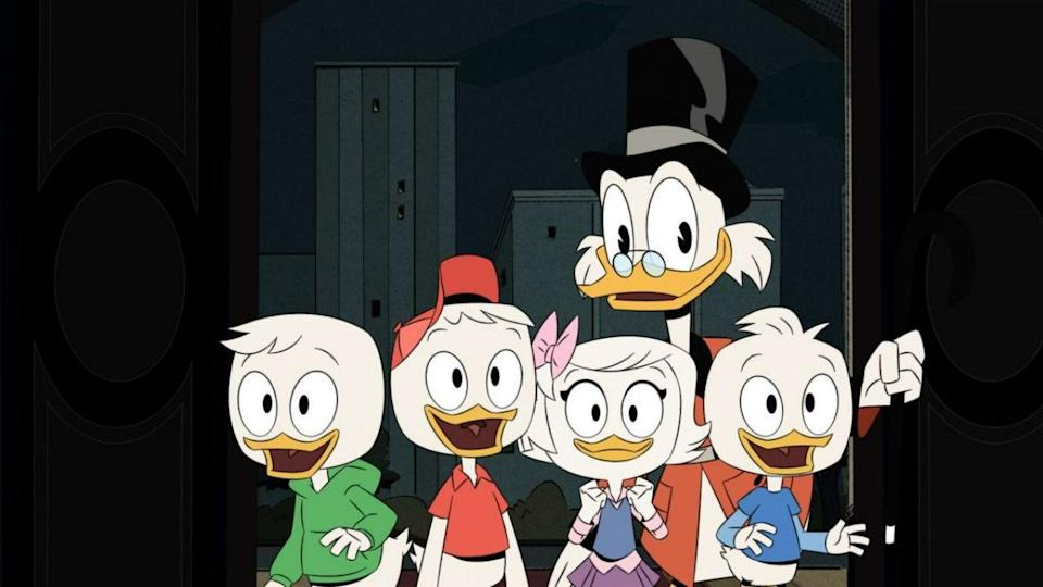 <p> We don&#x2019;t talk enough about Donald Duck&#x2019;s Scottish heritage. So, thank you to DuckTales for bringing us that reminder in the form of Scrooge McDuck &#x2013; an eccentric billionaire who somehow hasn&#x2019;t yet been crushed to death from repeatedly diving into a pool of solid gold coins. He&#x2019;s obsessed with maintaining his status as &#x201C;the richest duck in the world&#x201D;, which doesn&#x2019;t give him much time to look after his nephews Huey, Dewey, and Louie, foisted onto him after Donald decided to join the US Navy (of course).&#xA0; </p> <p> DuckTales (woohoohoo!) not only has one of the catchiest theme tunes to have ever been created, but it was also the reliable highlight of Disney Afternoon&#x2019;s line-up. It&#x2019;s a series filled with escapist adventures and globe-trotting intrigue. There are vikings, knights, pirates, and ghosts &#x2013; who knows who we&#x2019;ll meet and where we&#x2019;ll go. And it&#x2019;s great to see that same sense of ingenuity maintained for the 2017 reboot. </p>