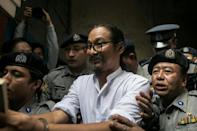 Min Htin Ko Ko Gyi is a filmmaker previously jailed for criticising Myanmar's military-drafted constitution