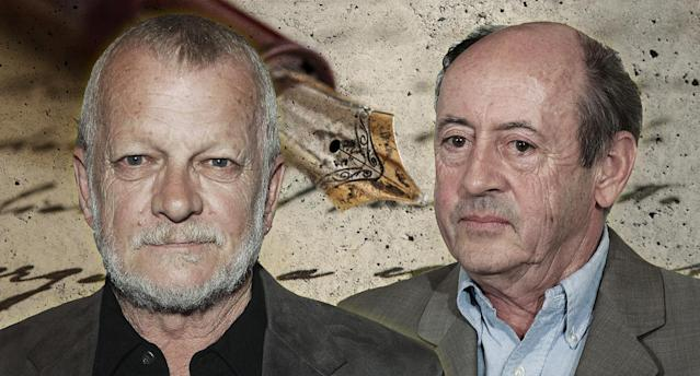 Sam Hamill and Billy Collins. (Yahoo News photo Illustration; photos: AP, Getty Images)