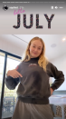 <p>Posted by Sophie Turner.</p>
