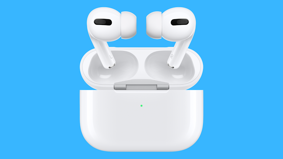 Customizable and noise-canceling: the Apple AirPods Pro are what we call a sound investment. (Photo: Apple)