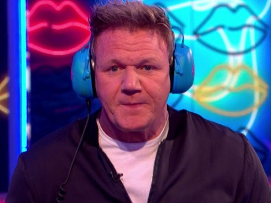 Gordon Ramsay took part in the latest episode of Saturday Night Takeaway (ITV)