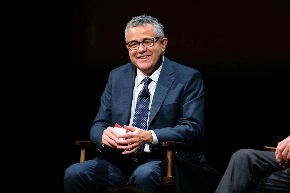 Jeffrey Toobin at the SAG-AFTRA Foundation's Conversations with Tom Brokaw in 2016. The New Yorker writer and legal analyst is in the news this week after reportedly masturbating on a work video call. (Photo: D Dipasupil via Getty Images)