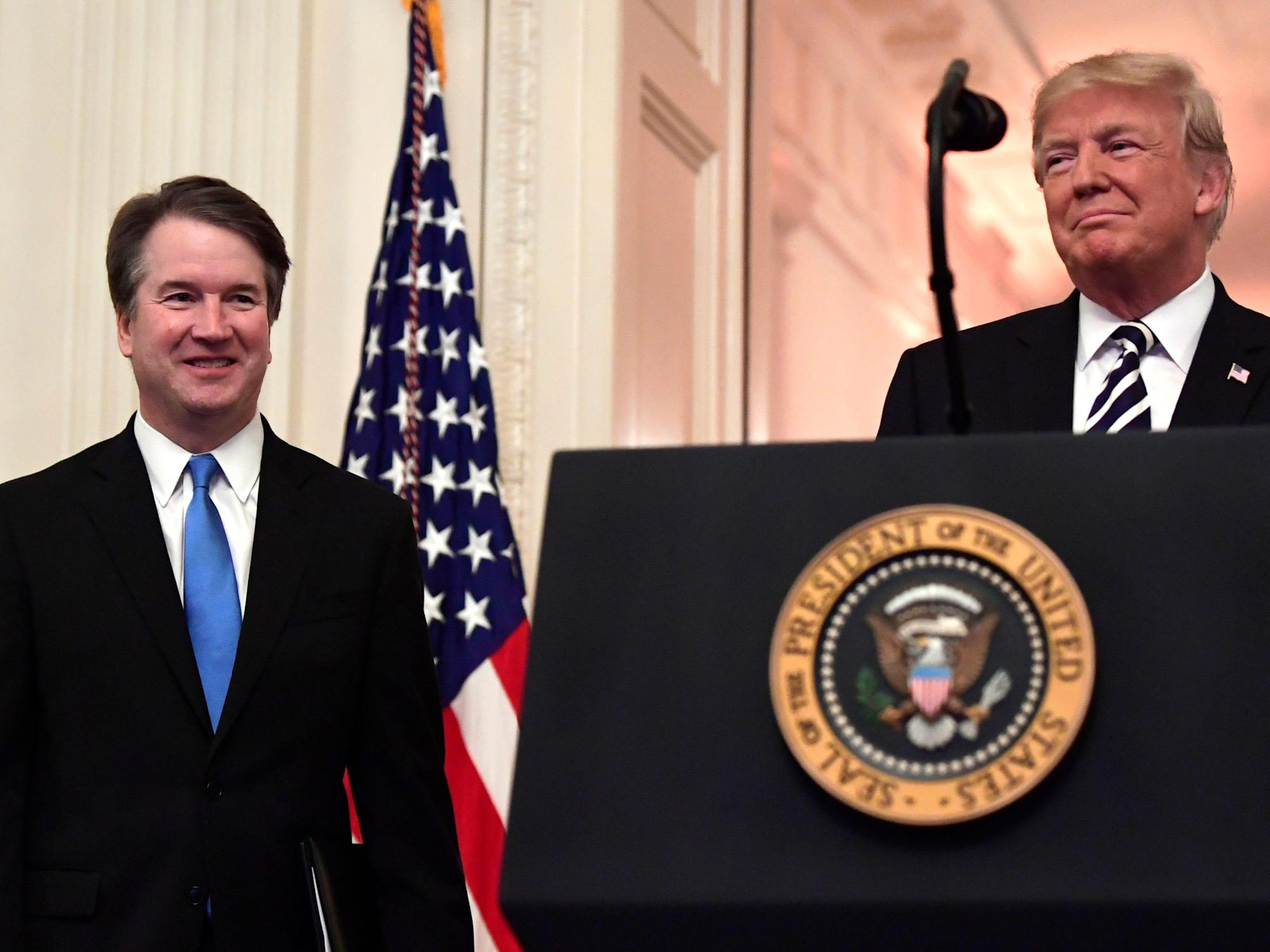 'I saved his life': Trump criticized Brett Kavanaugh after the Supreme Court threw out an election-fraud lawsuit, book says