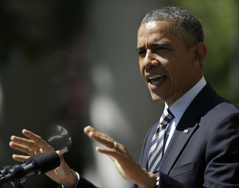 Obama: Economy showing signs of strength