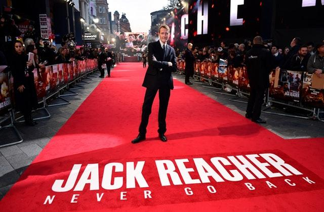 Jack Reacher author Lee Child is among those being honoured at Buckingham Palace (Ian West/PA)