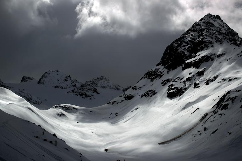 The Jamtalferner glacier is seen near Galtuer, Austria. (Photo: Lisi Niesner/Reuters)