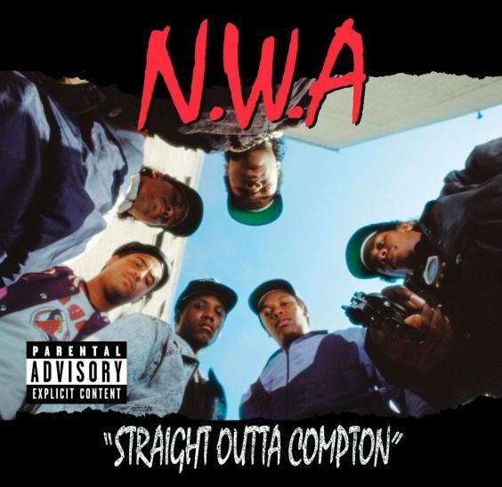NWA's debut studio album, 'Straight Outta Compton', was released in 1988 (Facebook)