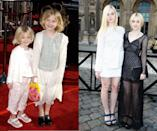 """<p><em>Then:</em> At the 20th Anniversary Premiere of <em>E.T. </em>in 2002</p><p><em>Now: </em>At the Louis Vuitton show during Paris Fashion Week</p><h1 class=""""title""""><br></h1>"""