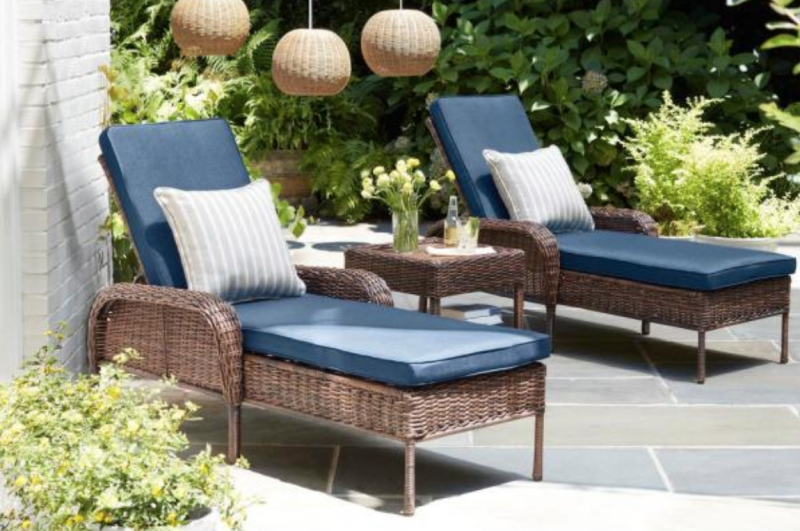 Home Depot is having a huge patio furniture sale, today only.