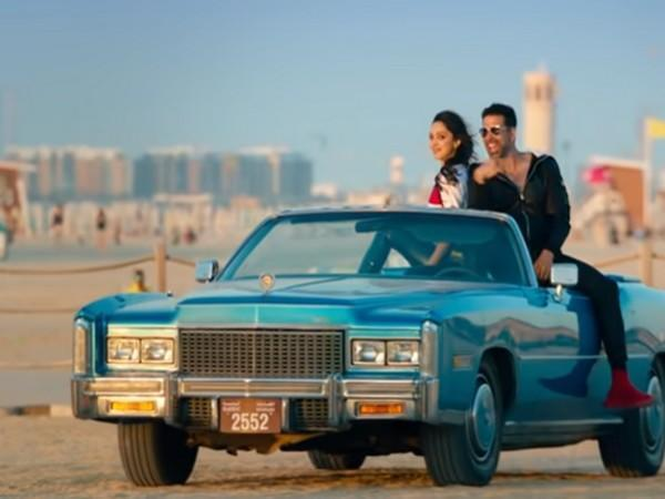 A still from the song 'Burj Khalifa' ( Image Source: YouTube)