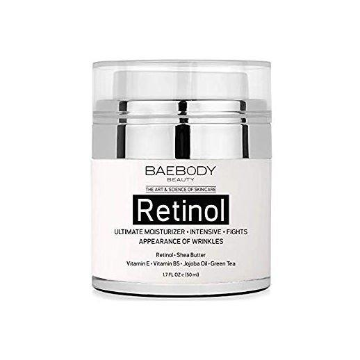 """<p>We've found that you really can't argue with cult-favorite Amazon beauty products. (Seriously, have you tried the <a href=""""http://amzn.to/2ACpKwo"""" target=""""_blank"""" title=""""(opens new window)"""">Aztec Secret Indian Healing Clay</a>?) </p> <p>This cream can be used all over your face in addition to the delicate eye area, which simplifies your evening routine in one fell swoop. It's packed with retinol to treat fine lines and wrinkles, Aloe vera to soothe, sunflower oil to moisturize, and antioxidants to brighten and rejuvenate. </p> <p><strong>BUY IT: $19.95; <a href=""""https://www.amazon.com/Baebody-Retinol-Moisturizer-Cream-Face/dp/B01FLO5914/ref=cm_cr_arp_d_product_top?ie=UTF8&camp=1789&creative=9325&linkCode=as2&creativeASIN=B01FLO5914&tag=southlivin04-20&ascsubtag=d41d8cd98f00b204e9800998ecf8427e"""" target=""""_blank"""">amazon.com</a></strong></p>"""