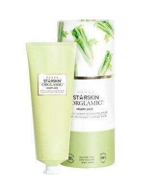 <p>We drink celery to nourish the inside of our body, so why not use it to nourish the outside? The <span>StarSkin Orglamic Celery Juice Healthy Hybrid Cleansing Balm</span> ($31) is a balm to oil to milk cleanser that removes makeup while simultaneously conditioning the skin.</p>