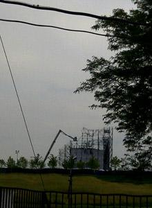 Investigators from the Ministry of Labour and Toronto police are on the scene at Downsview Park on Sunday, trying to piece together what caused the deadly stage collapse before a scheduled Radiohead concert on Saturday night.