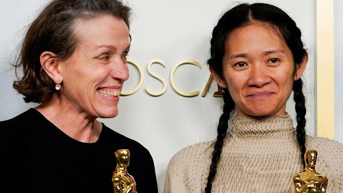 Actress Frances McDormand and director Chloe Zhao recently won Oscars for their film Nomadland