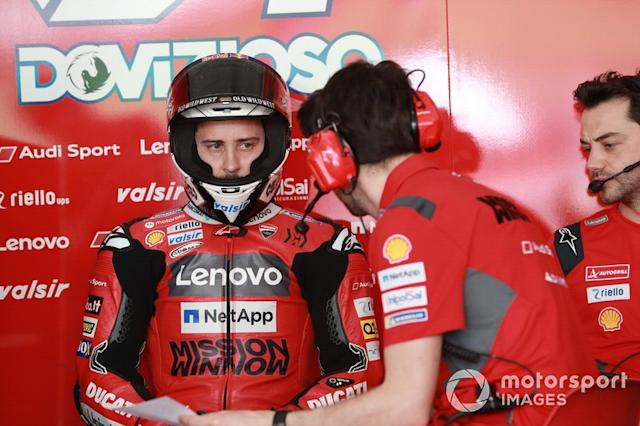 """Andrea Dovizioso, Team Ducati <span class=""""copyright"""">Gold and Goose / Motorsport Images</span>"""