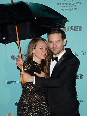 Tobey McGuire and his wife Jennifer Meyer