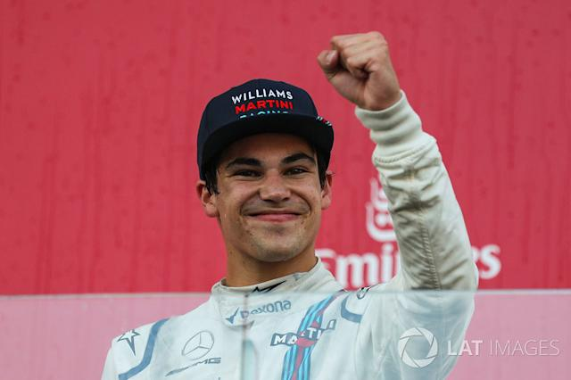 "Lance Stroll, Williams (1 Podio) <span class=""copyright"">Sutton Motorsport Images</span>"