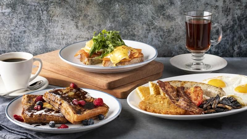 Brunch options at Harry's Resorts World Sentosa. Photo: Harry's
