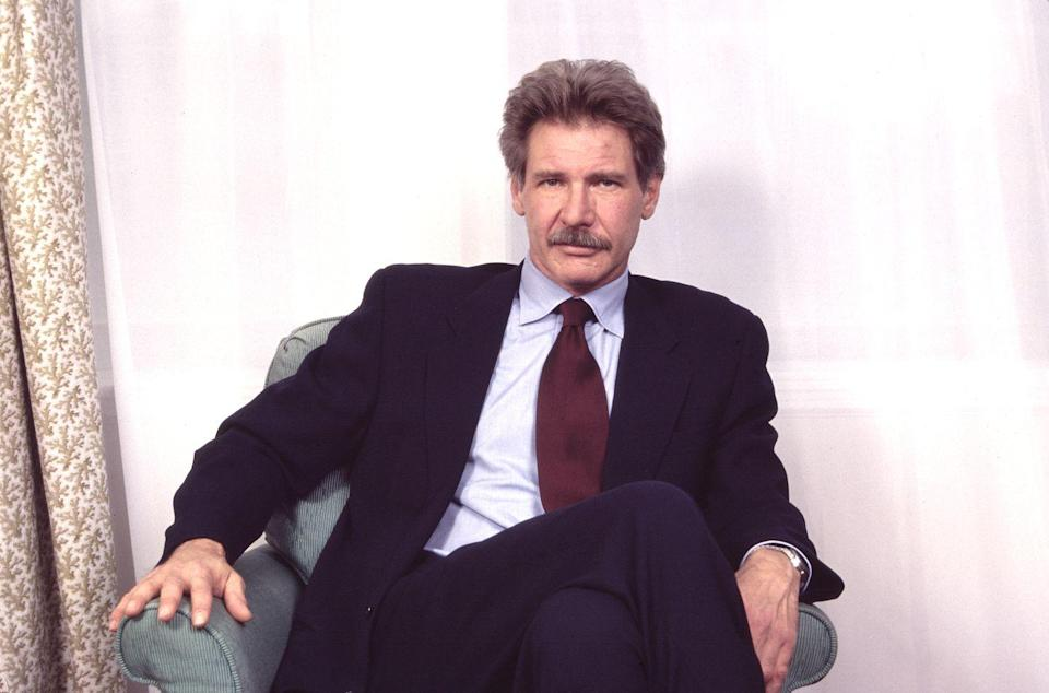 <p>There was a moment in the mid-'90s where actor Harrison Ford had a mustache phase that was very well-received.</p>