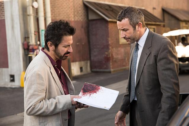 Ray Romano and Chris O'Dowd in <em>Get Shorty</em>. (Photo: Epix)