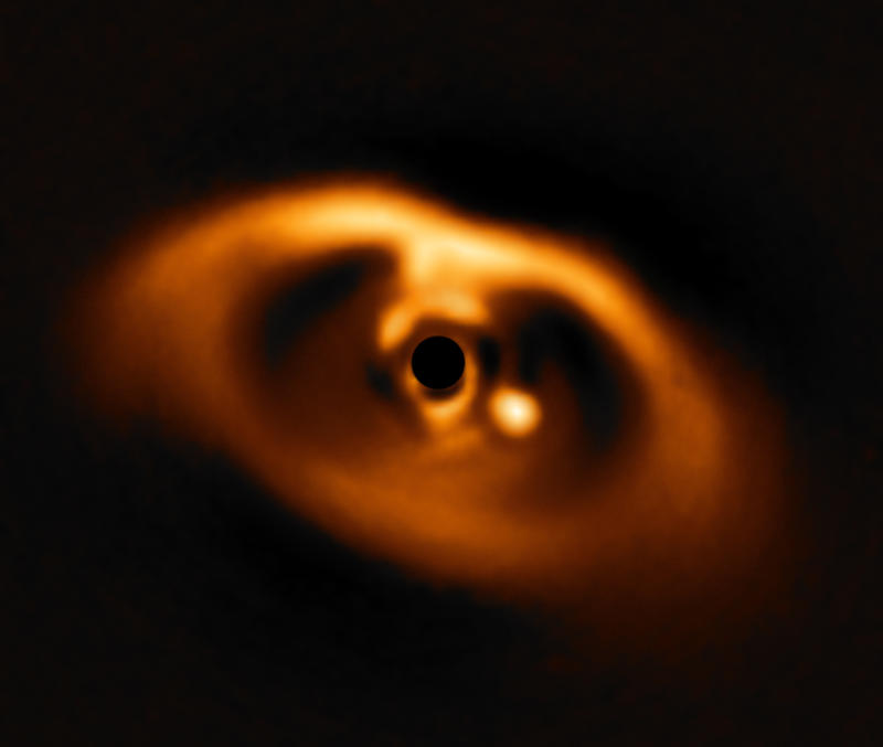 First confirmed image of a newborn planet revealed