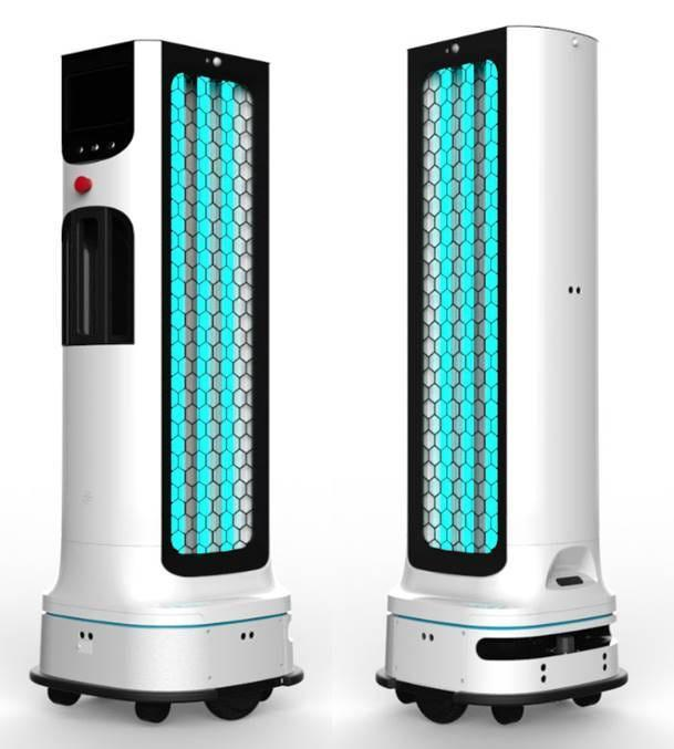 LG Electronics is developing a robot that disinfects offices, restaurants and other high-traffic areas using ultraviolet (UV-C) light.  LG Business Solutions USA plans to bring the robot to market in early 2021.