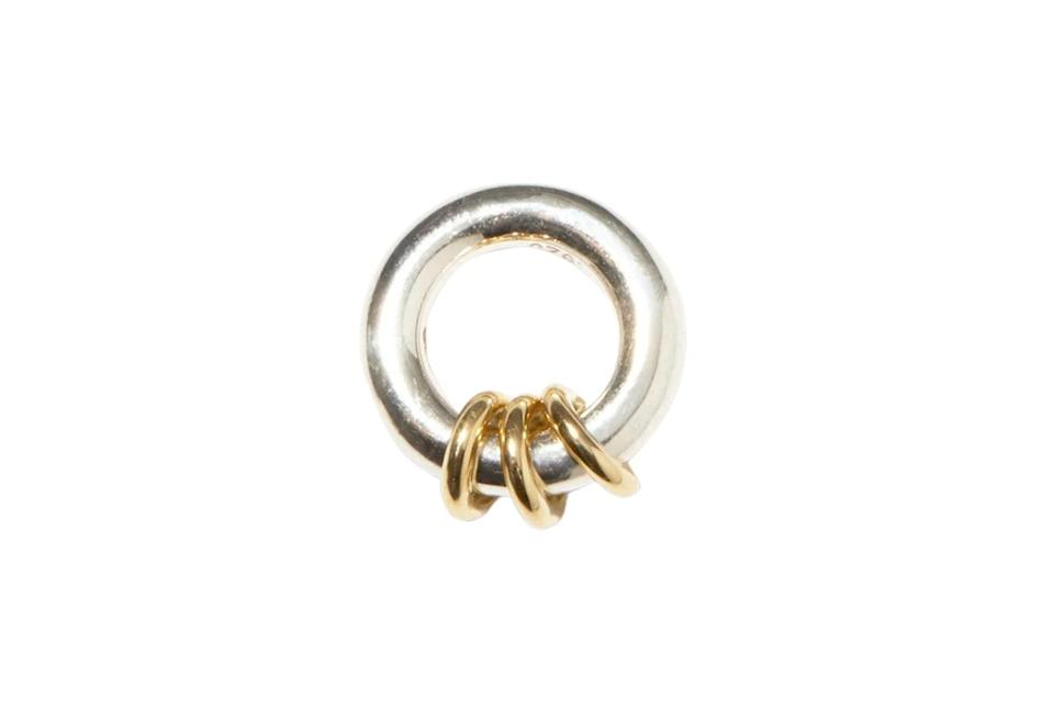 """$500, Matchesfashion. <a href=""""https://www.matchesfashion.com/us/products/Spinelli-Kilcollin-Nebula-sterling-silver-%26-18kt-gold-pendant-1404122"""" rel=""""nofollow noopener"""" target=""""_blank"""" data-ylk=""""slk:Get it now!"""" class=""""link rapid-noclick-resp"""">Get it now!</a>"""