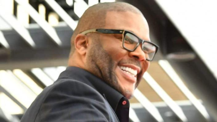 Tyler Perry is developing a prequel for Showtime that explores the life of his signature character, Madea, that takes place during her raucous 20s. (Photo by Amy Sussman/Getty Images)