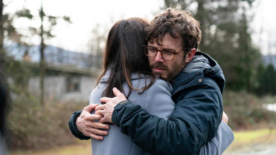 Casey Affleck portrays a troubled psychiatrist in thriller 'Every Breath You Take'. (Ed Araquel/Vertical Entertainment/Sky Cinema)