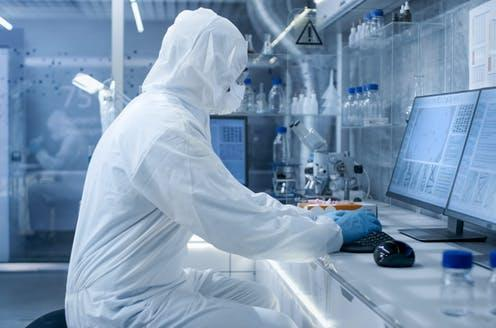 """<span class=""""attribution""""><a class=""""link rapid-noclick-resp"""" href=""""https://www.shutterstock.com/image-photo/secure-high-level-laboratory-scientists-coverall-684989773"""" rel=""""nofollow noopener"""" target=""""_blank"""" data-ylk=""""slk:Gorodenkoff/Shutterstock"""">Gorodenkoff/Shutterstock</a></span>"""